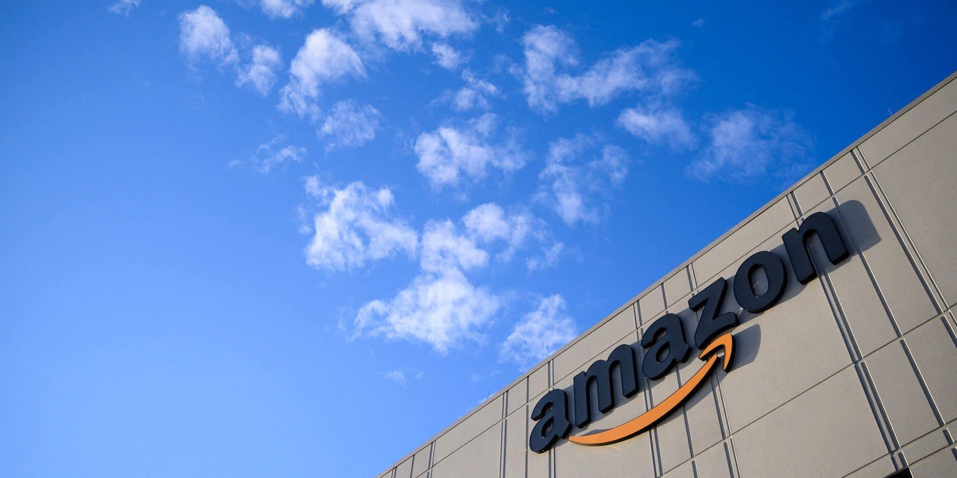 Amazon annonce la création de 10.000 emplois au Royaume-Uni