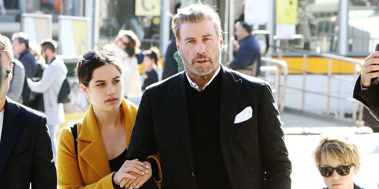 EXCLUSIVE: John Travolta catches the Orient Express in Venice