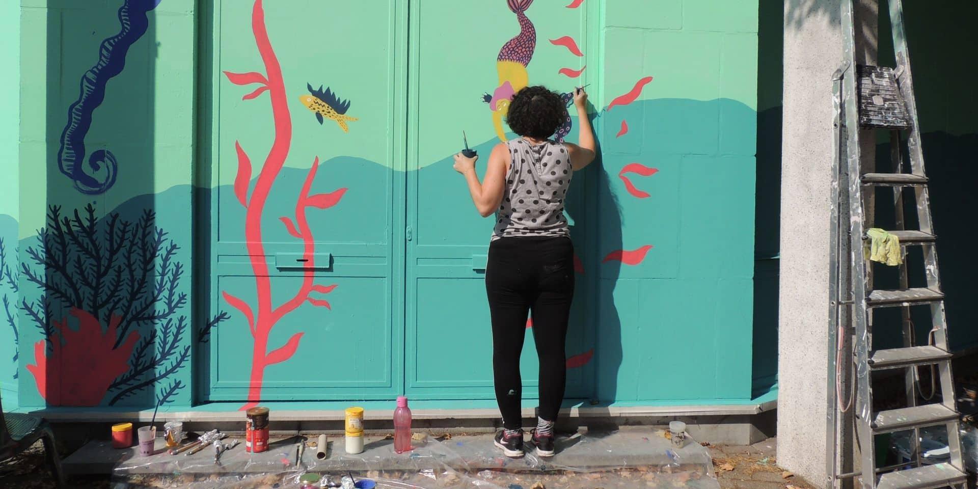 Mouscron: l'artiste Fabienne Delmotte expose à la Loggia