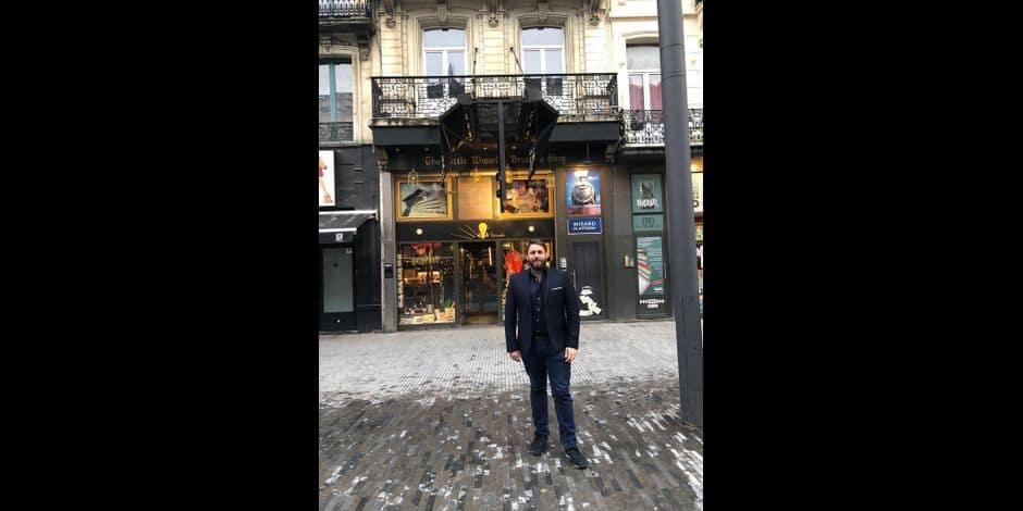 Bruxelles-Ville : Un parcours BD pour célébrer les commerçants
