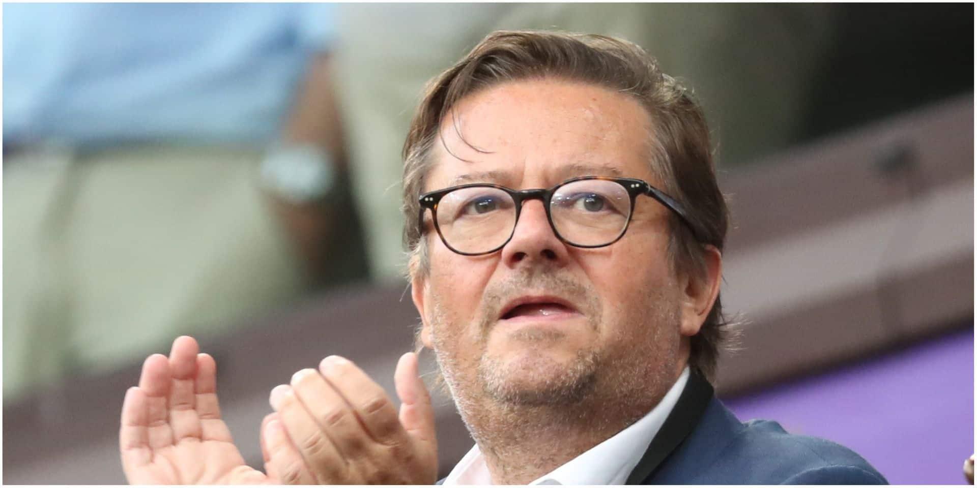 Vexé, Coucke a quitté le stade d'Ostende