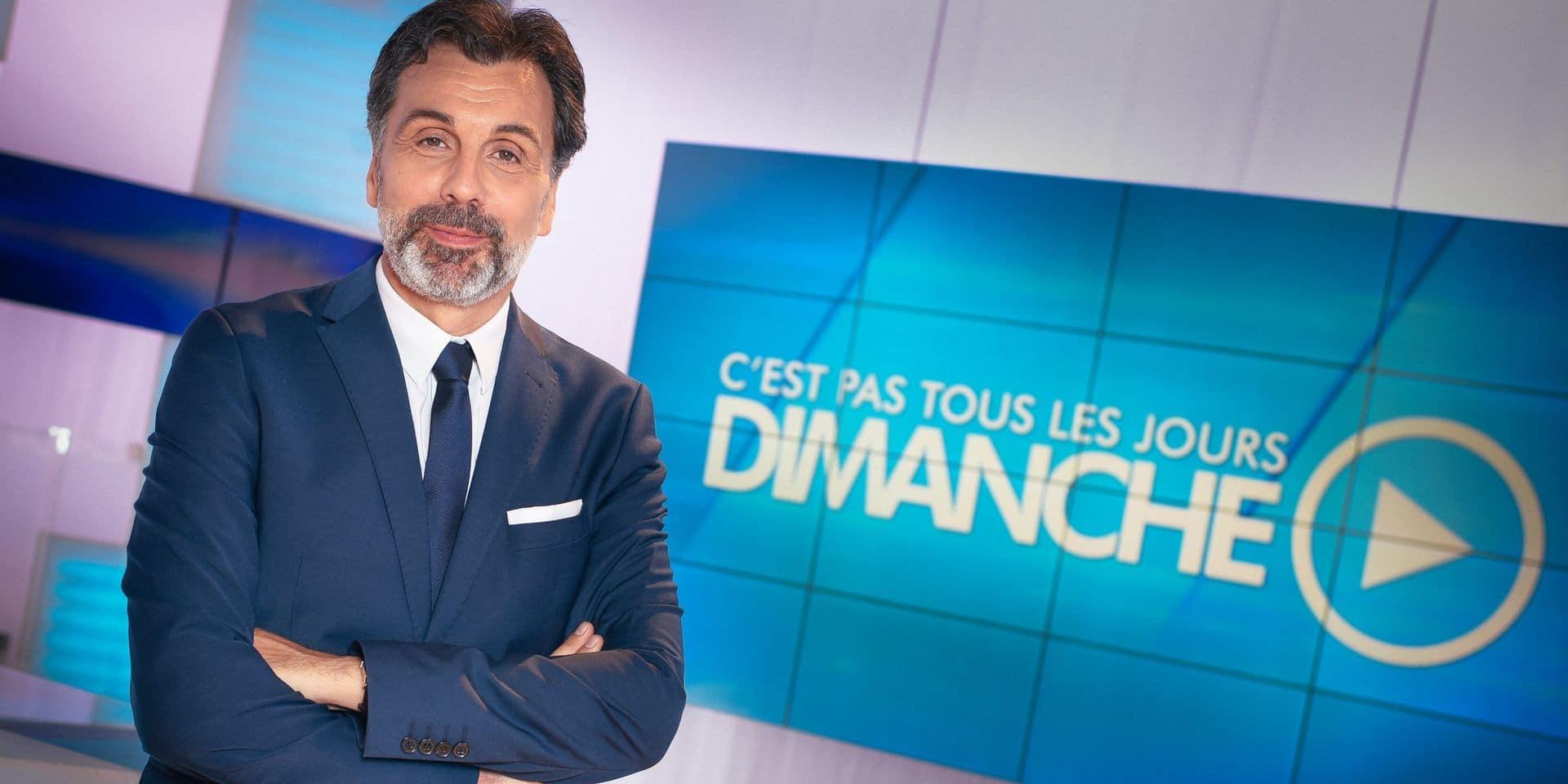 """Christophe Deborsu ne sera plus seul à la présentation de """"C'est pas tous les jours dimanche"""""""
