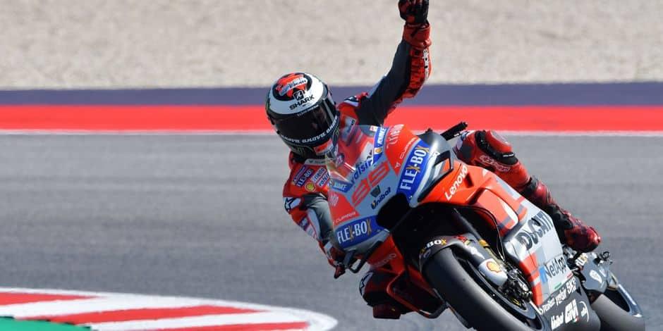 Victoire de Dovizioso à Misano — MotoGP