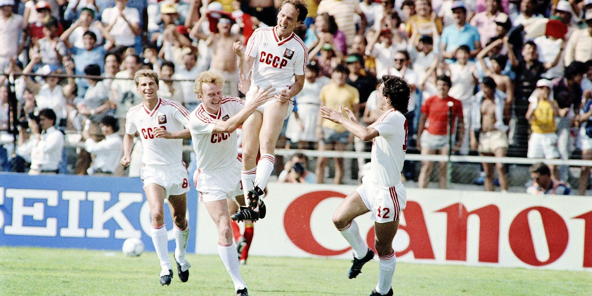 FIFA WORLD CUP 1986-SOVIET UNION VS BELGIUM