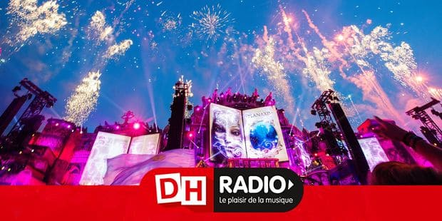 Fireworks at mainstage pictured during DJ set of Afrojack during and the first day of the Tomorrowland music festival, Sunday 21 July 2019. The 15th edition of Tomorrowland electronic music festival takes place at the 'De Schorre' terrain in Boom from 19 to 21 July 2017 and from 26 to 28 July 2018. BELGA PHOTO DAVID PINTENS
