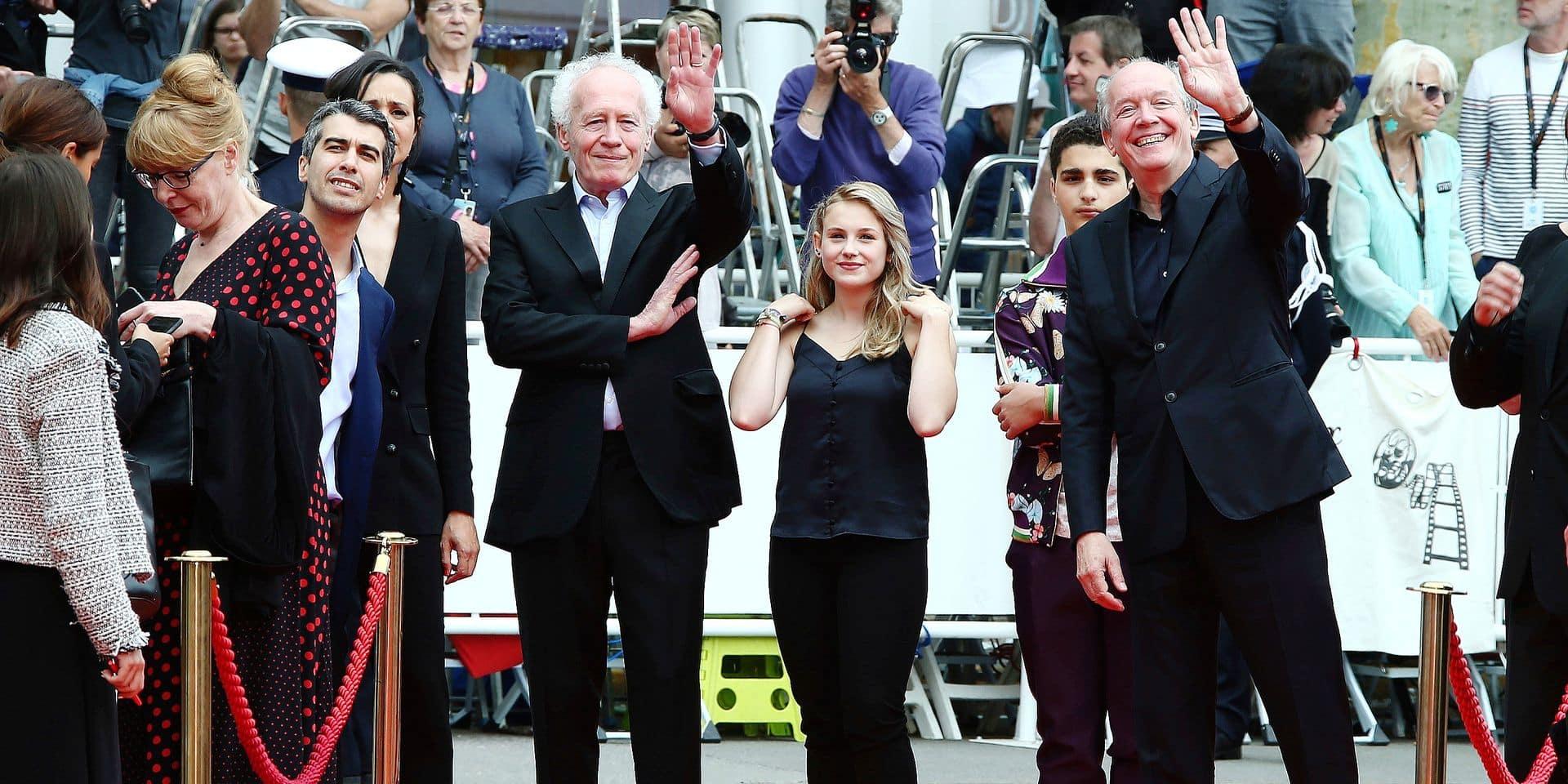 Jean-Pierre Dardenne, Victoria Bluck, Idir Ben Addi, Luc Dardenne