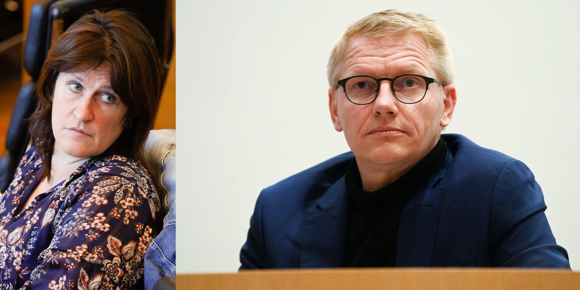 Jacqueline Galant suggère à Georges Gilkinet de démissionner