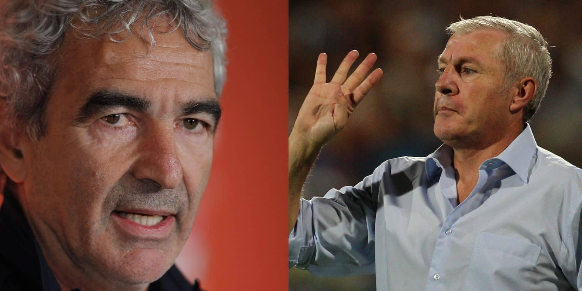 """Luis Fernandez tacle Raymond Domenech: """"Eux au moins, ils font descendre leurs joueurs du bus !"""""""