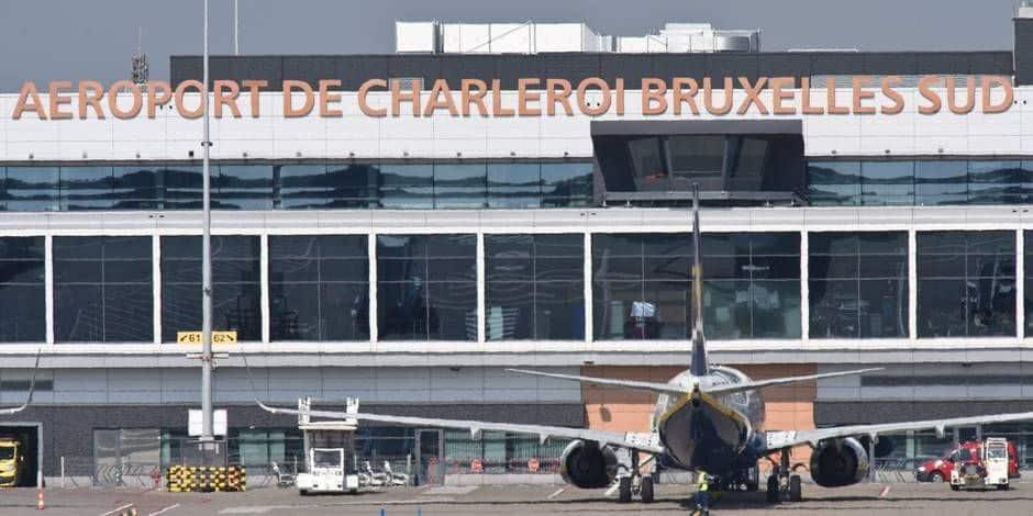 Une baisse de fréquentation encore proche des 90% à l'aéroport de Charleroi en mai