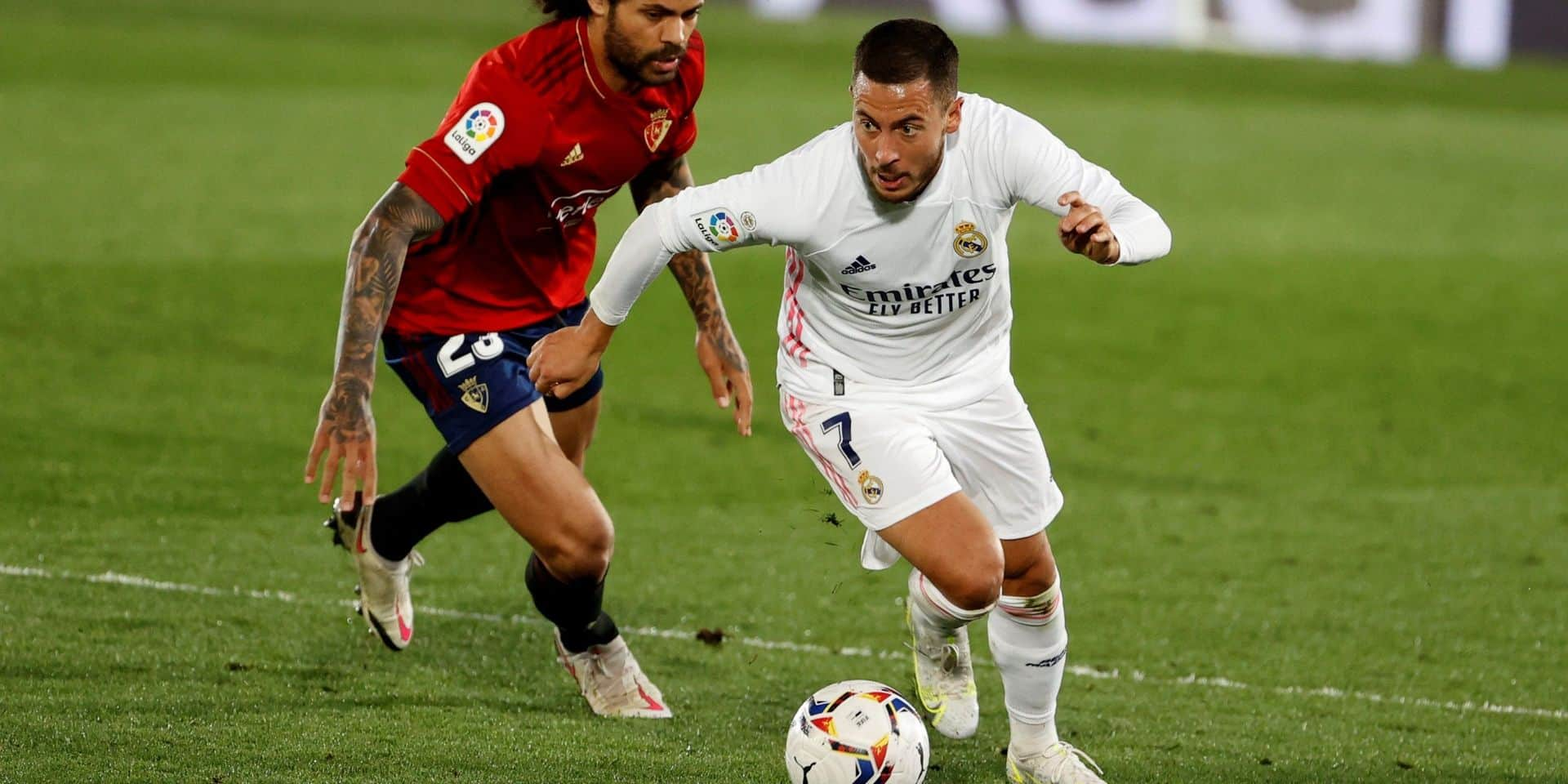 """""""Il ne fait pratiquement rien depuis deux saisons"""": un ancien joueur du Real tire un bilan peu flatteur d'Eden Hazard"""