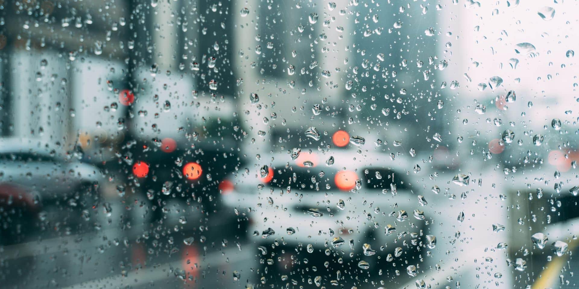 Intempéries : orages et pluies torrentielles en Wallonie picarde