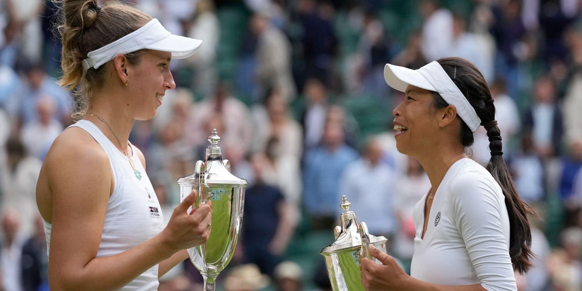 Elise Mertens, avec Hsieh, remporte son troisième Grand Chelem après un match fou à Wimbledon