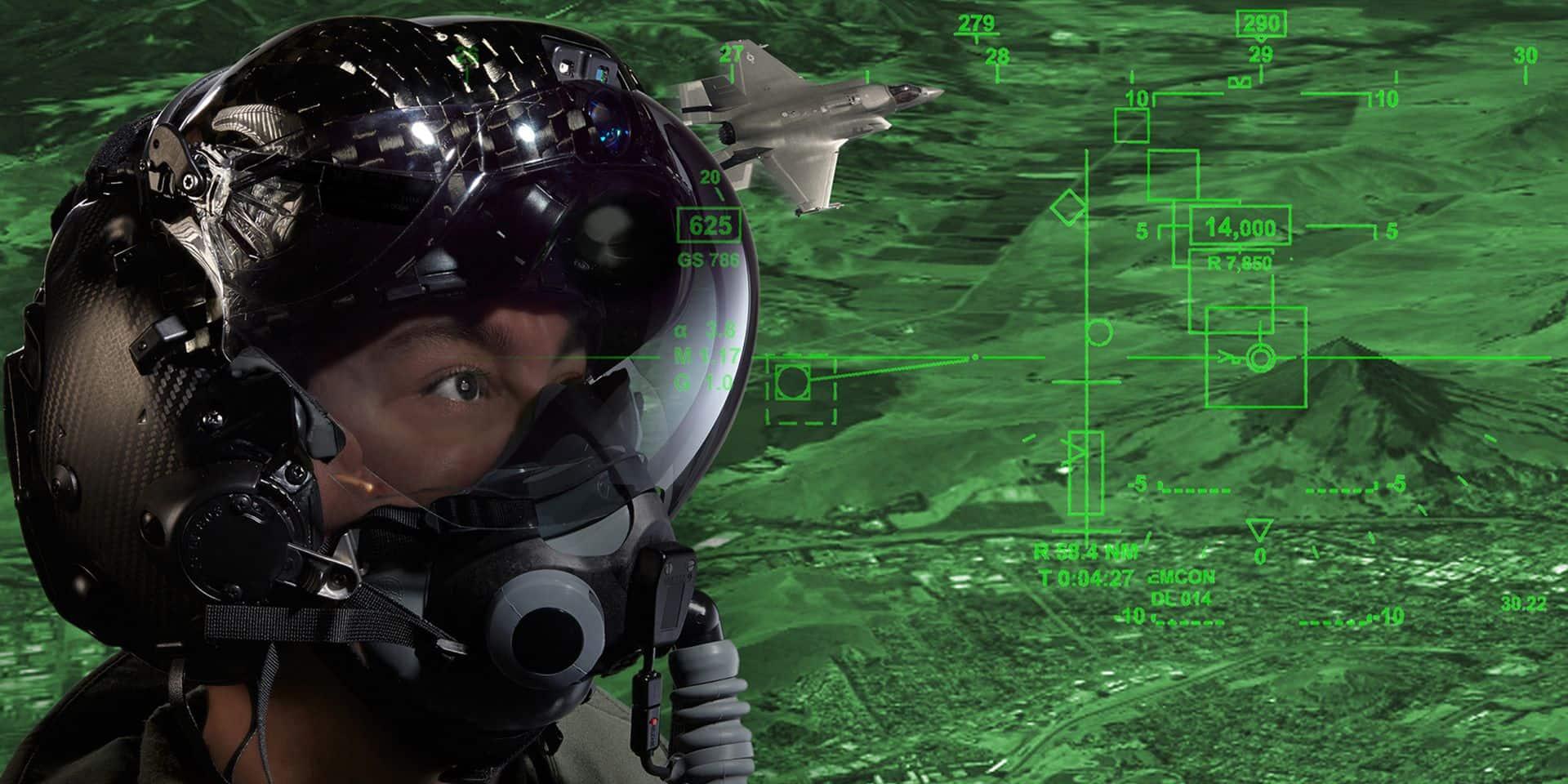La Défense va acheter des casques à 270.000 euros l'unité pour les pilotes des futurs F-35: un matériel de pointe qui pourrait finalement coûter... plus du double!