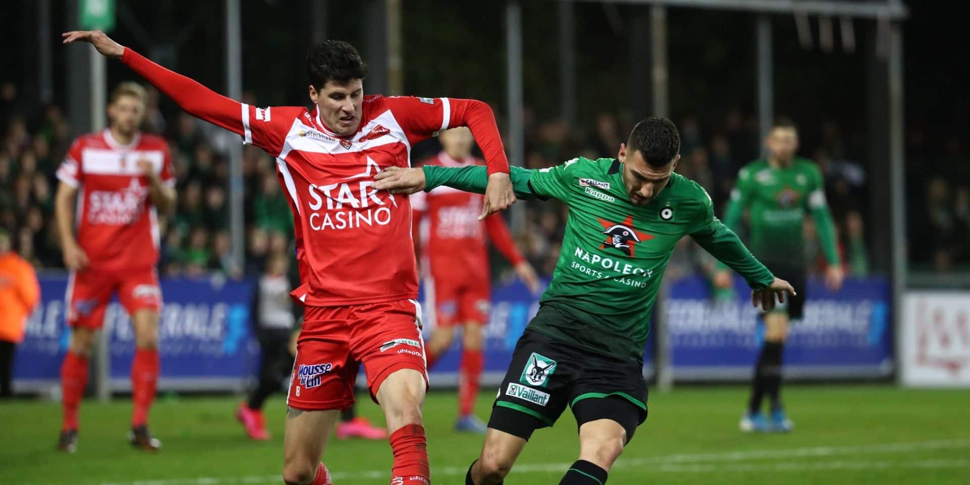 Jupiler Pro League: la victoire de l'espoir pour le Cercle de Bruges à Mouscron (0-1), Malines reste en course pour le top 6