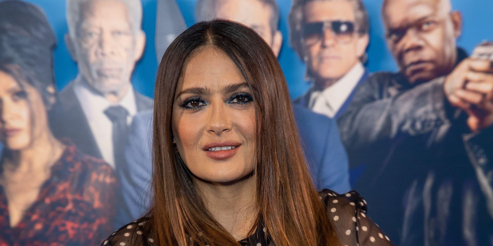Salma Hayek attends screening