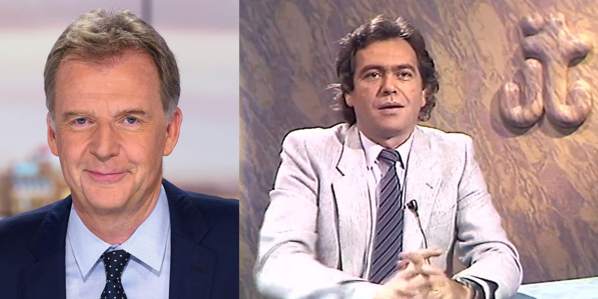 """François De Brigode rend hommage à Jean-Pierre Gallet: """"Il a marqué l'histoire du journal télévisé"""""""