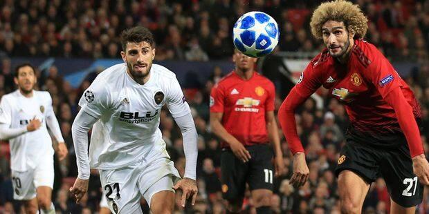 Ligue des Champions: Manchester United-Valence, un retard qui pourrait coûter cher - La DH