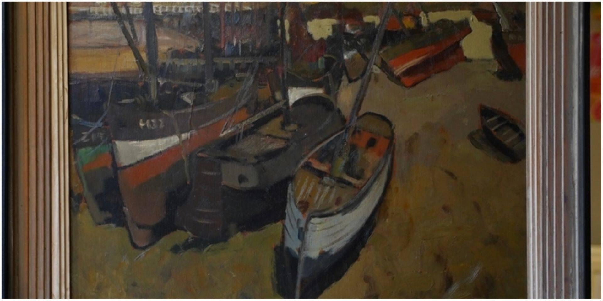 A vos trésors : Un petit air de Bretagne avec ce tableau signé Camus