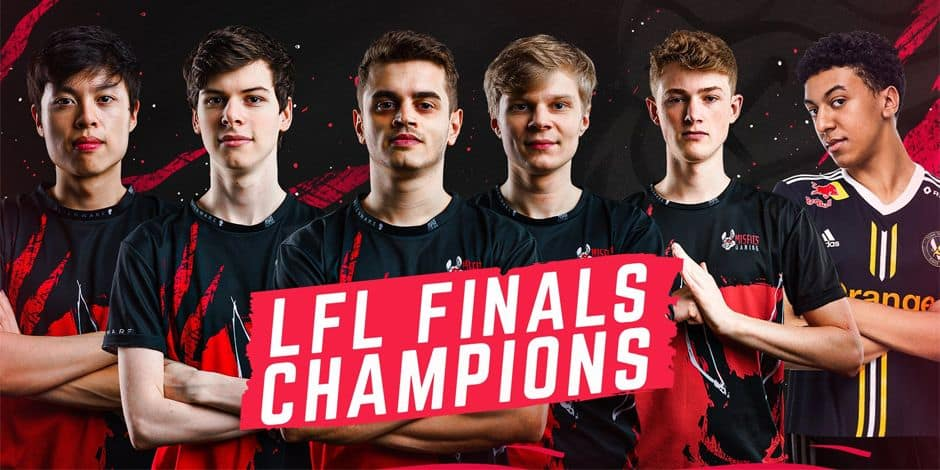 "Le Belge Raphaël ""Targamas"" Crabbé et Misfists Premier deviennent champions de France de League of Legends"