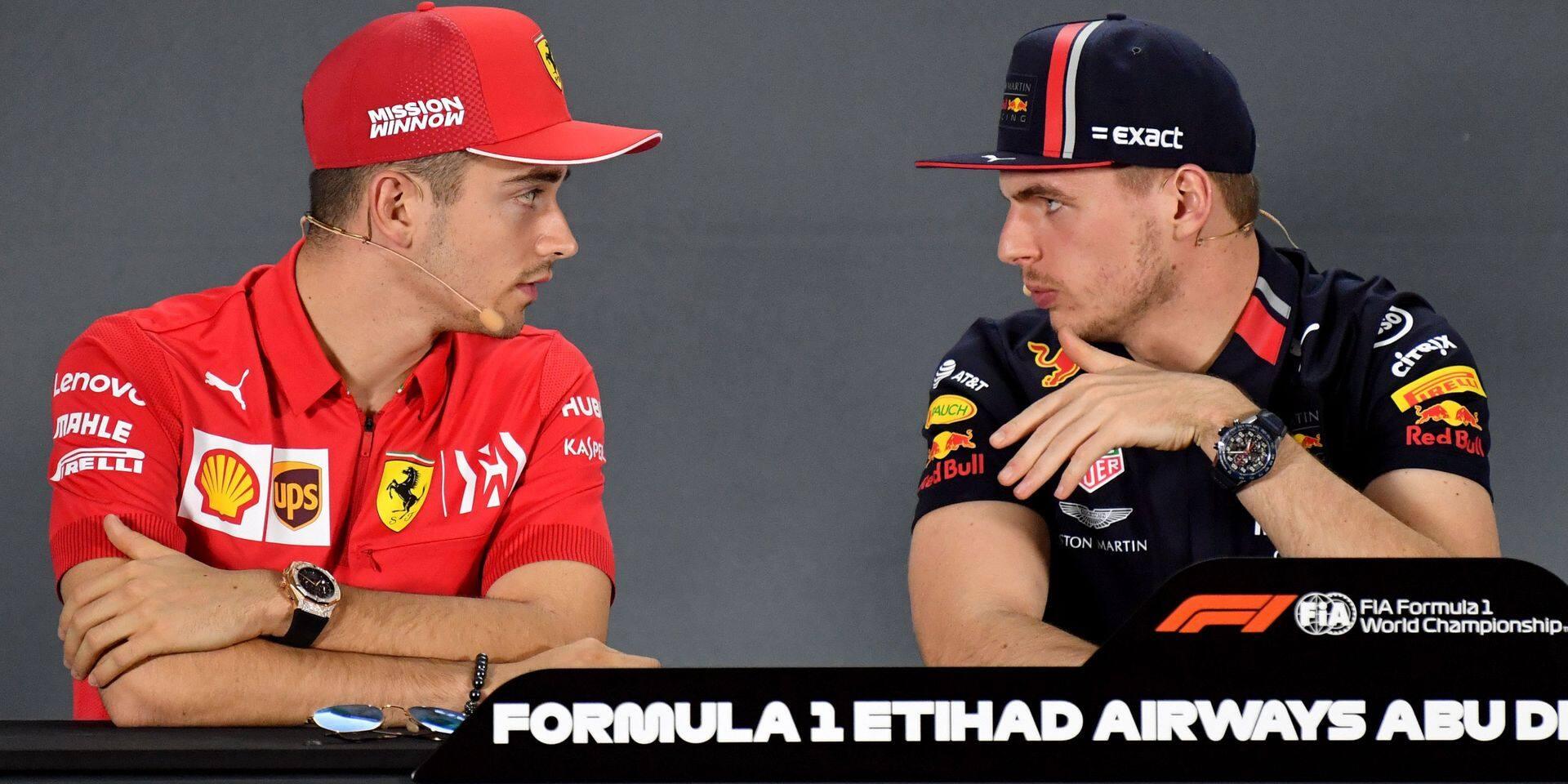 F1: Duel de (futurs) champions entre Max Verstappen et Charles Leclerc à Abu Dhabi