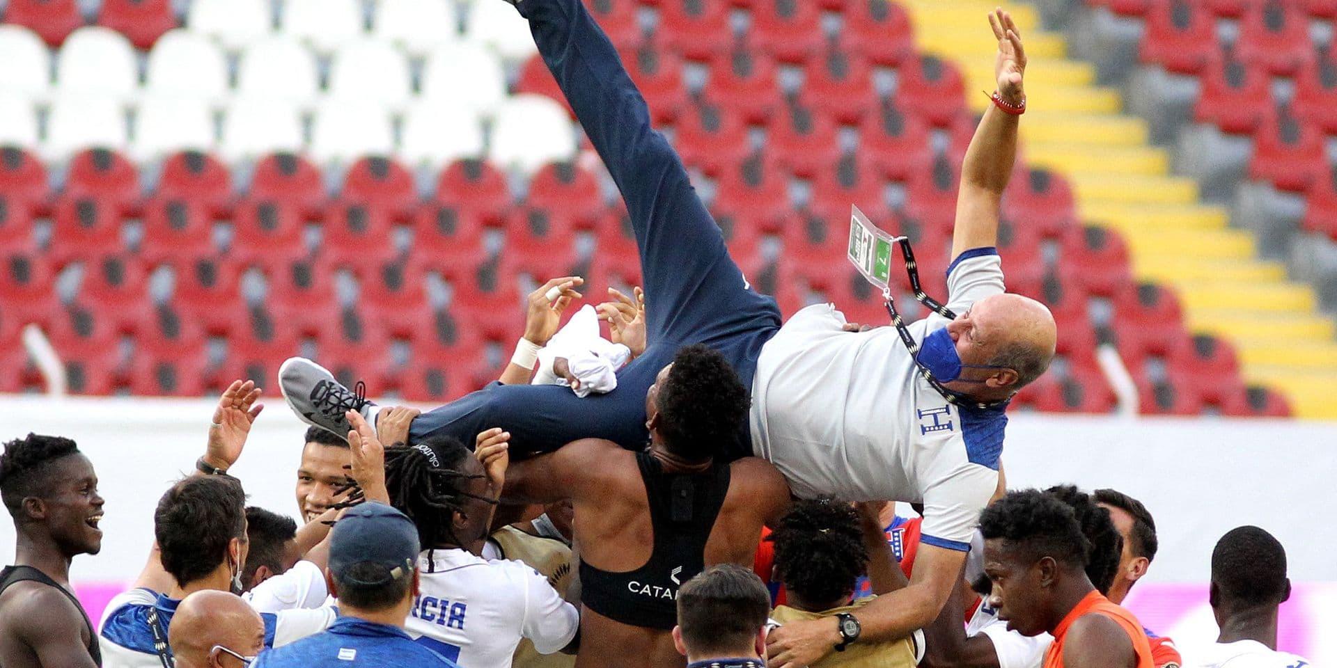 Foot: l'équipe masculine des USA, éliminée par le Honduras, n'ira pas aux JO de Tokyo