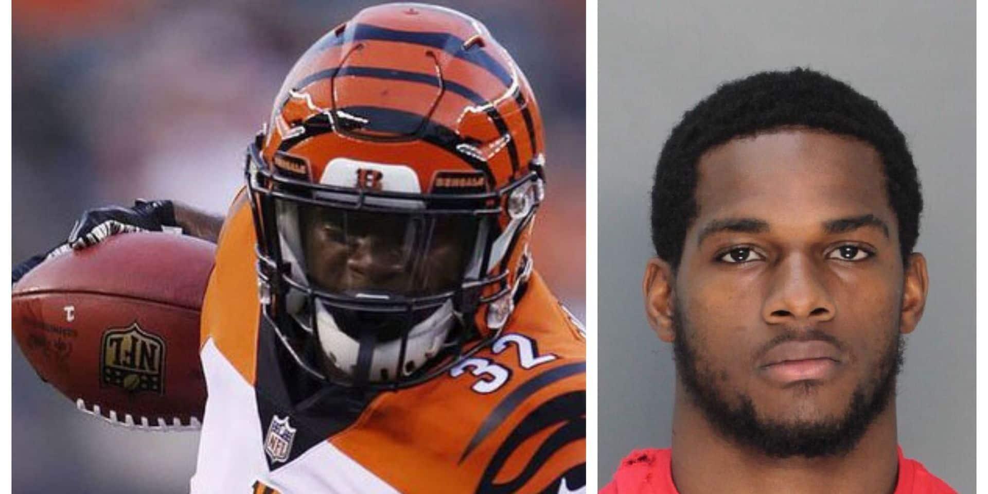 NFL: arrêté pour la troisième fois par la police, Mark Walton est viré par les Bengals (VIDEO)