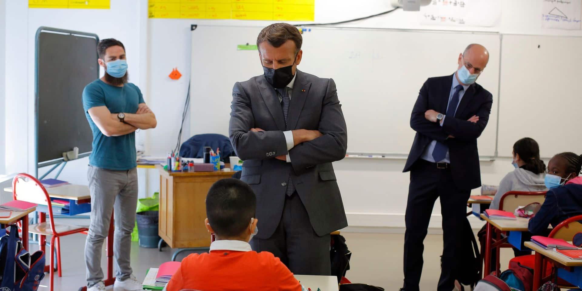 """En France, une réouverture des écoles à hauts risques : """"On a un peu peur que ça referme tout de suite"""""""
