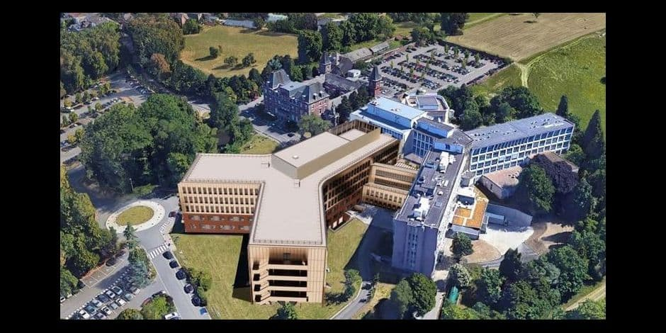 Extension de l'hôpital des Bruyères !