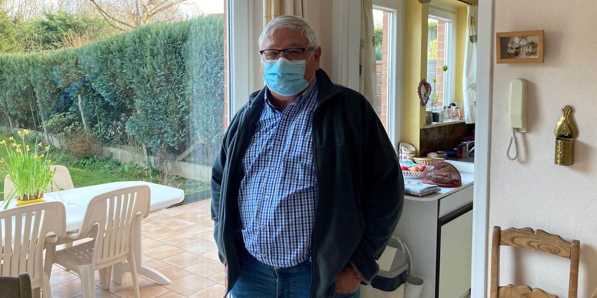 Michel ne peut pas se faire vacciner au centre de Braine-l'Alleud: il y a trop peu de doses