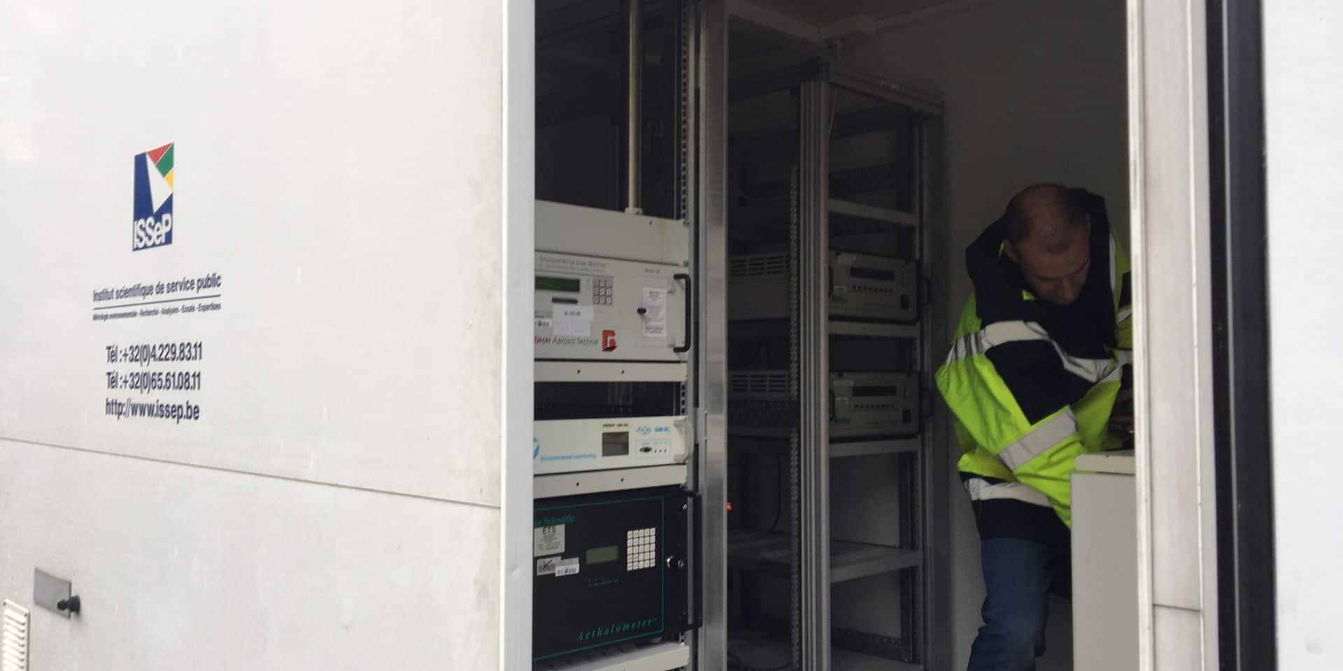Charleroi: la qualité de l'air sera mesurée par trois cabines en centre-ville