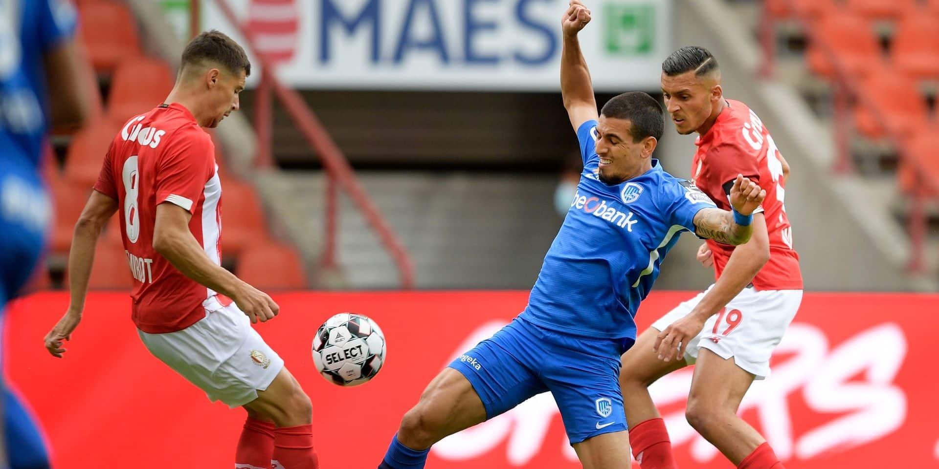 Des occasions, du rythme et une carte rouge en fin de match pour le Standard qui partage l'enjeu face à Genk (0-0)