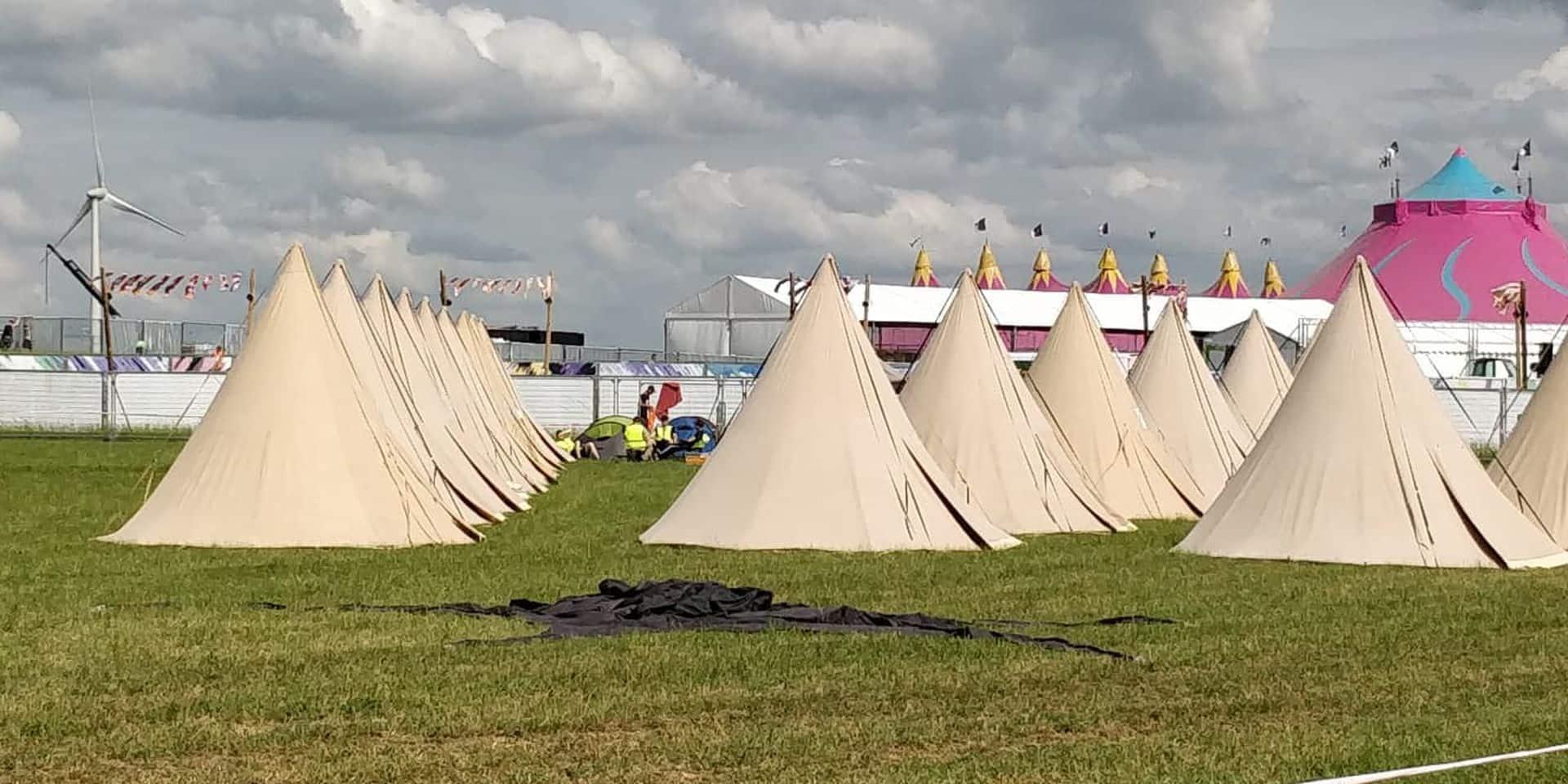 Pour la première fois, le Seneffe Festival aura son camping
