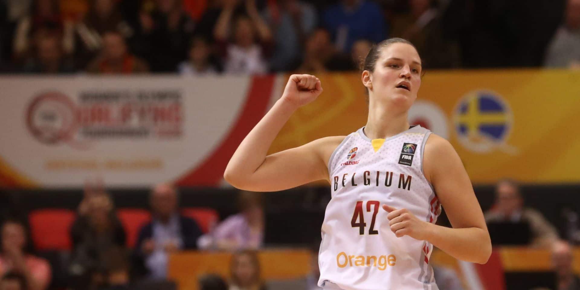 Gros coup dur pour les Belgian Cats à deux jours de l'Euro de basket: fracture de la main pour Jana Raman