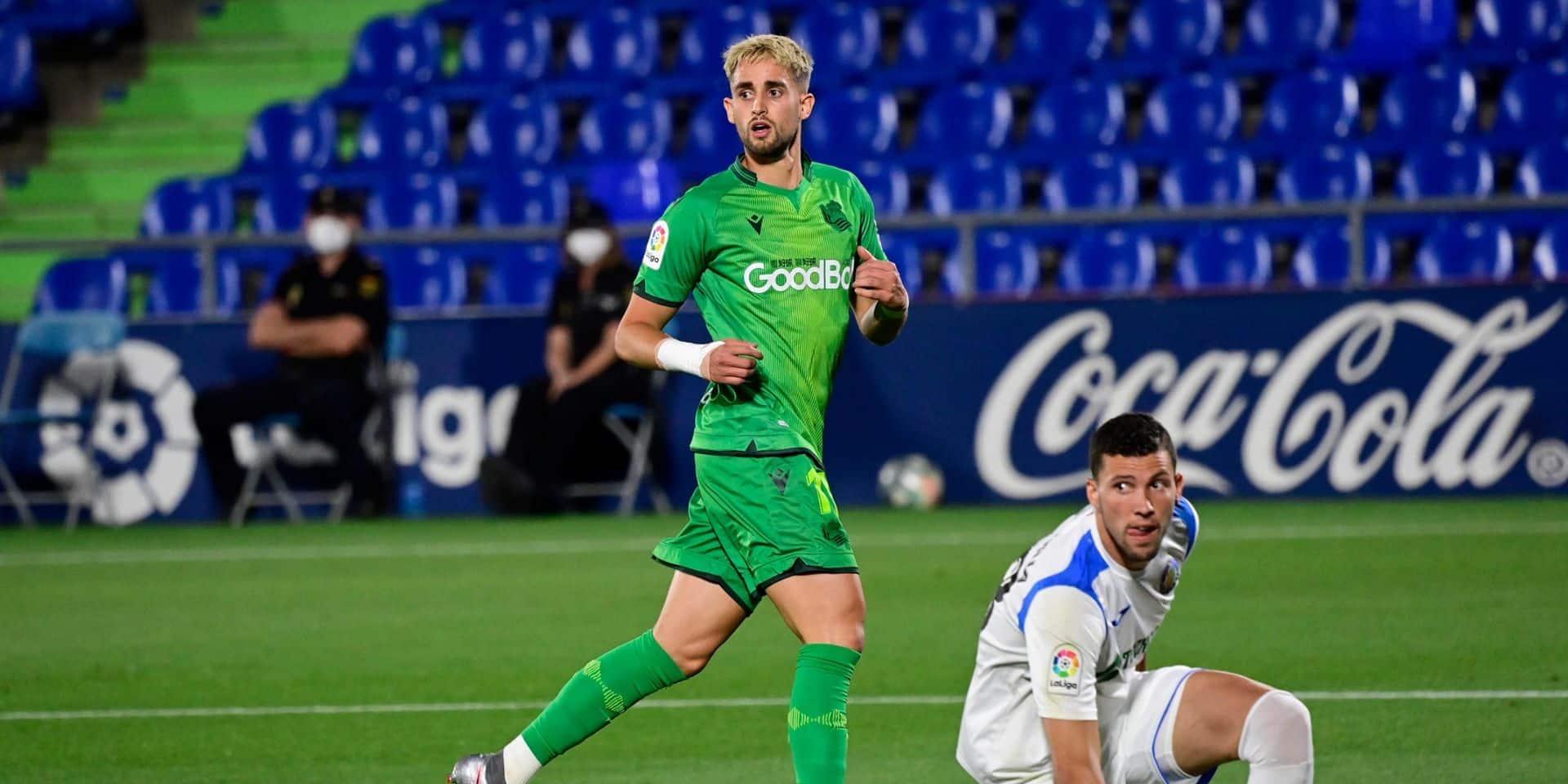 Malgré un but d'Adnan Januzaj, la Real Sociedad battue à Getafe (VIDEO)