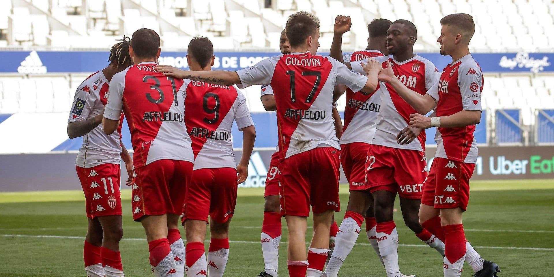 Ligue 1: Monaco joue les invités surprise dans la course au titre