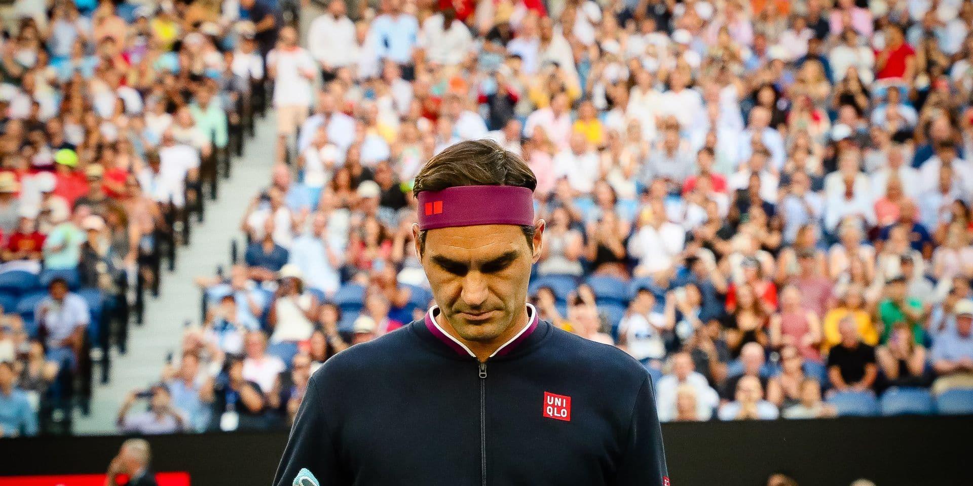 """Roger Federer de retour après plus d'un an: """"la retraite n'a jamais été une option"""""""