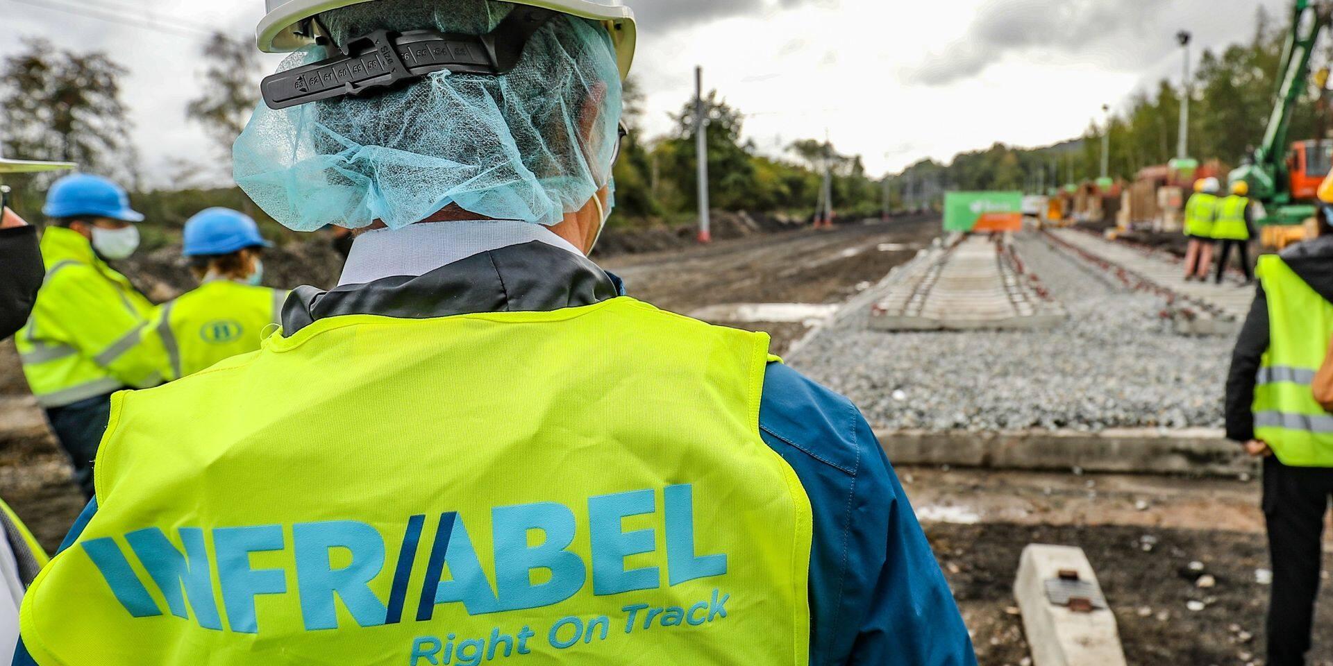 Début des travaux sur le pont ferroviaire qui surplombe le ring bruxellois à Zaventem