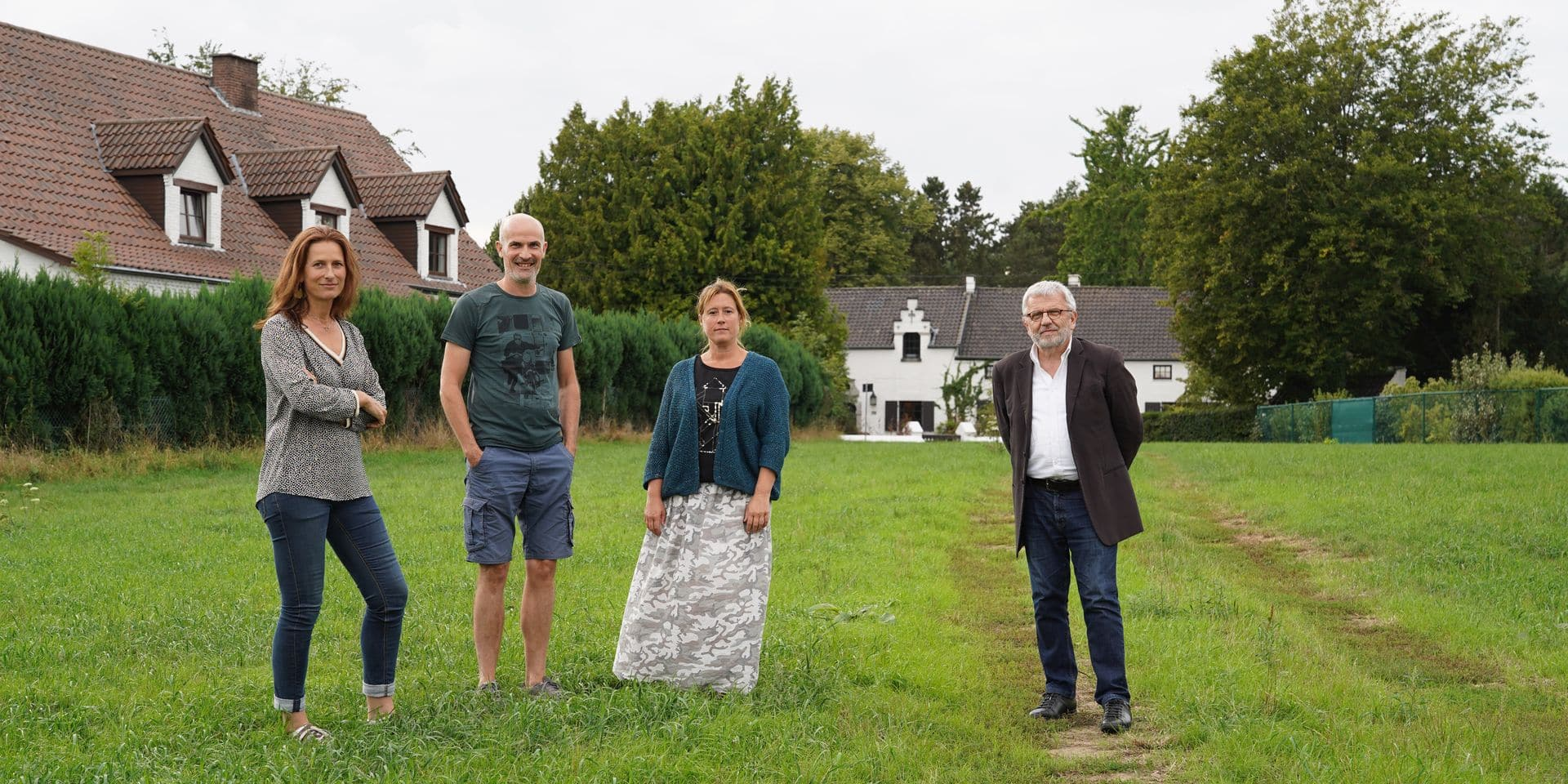 Des artistes plutôt que du logement dans le quartier d'Hergé à Céroux-Mousty