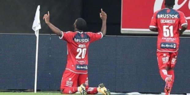 Terem Moffi Part De Courtrai Pour Lorient Contre Une Somme De 7 Millions D Euros Dh Les Sports