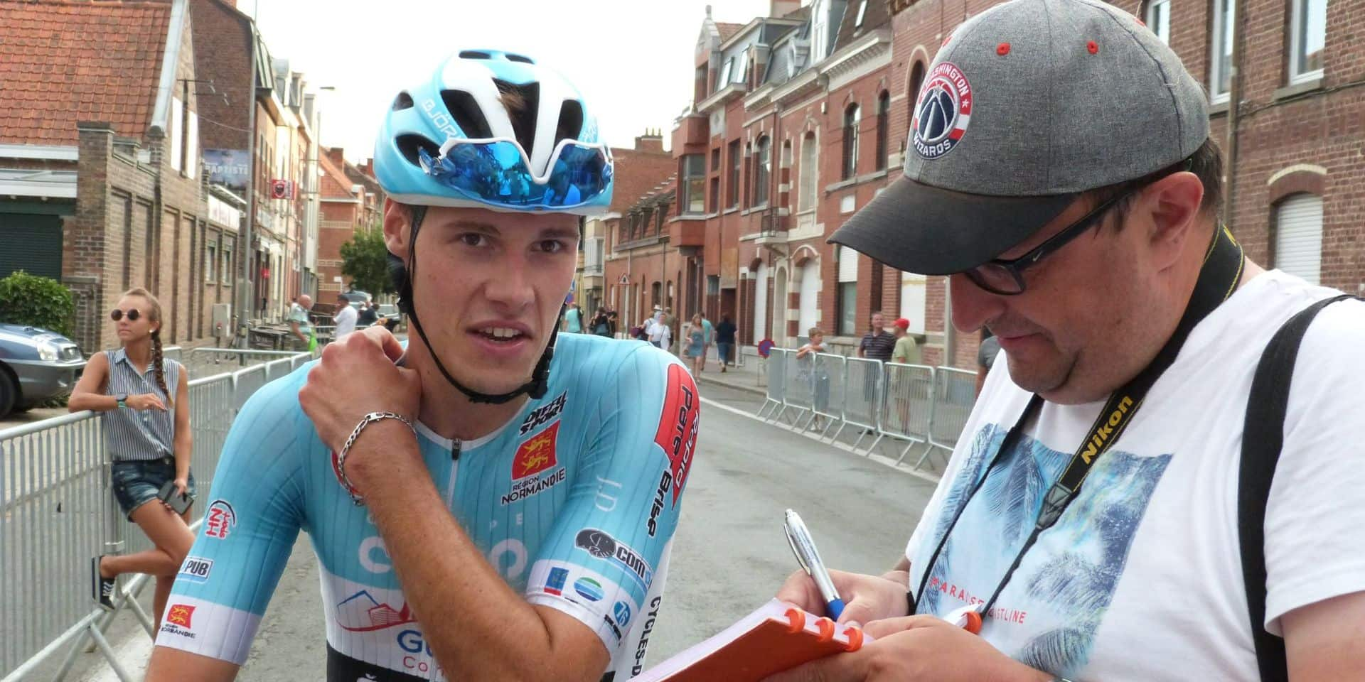 Maximilien Picoux passe pro chez Natura4Ever-Roubaix Lille Métropole
