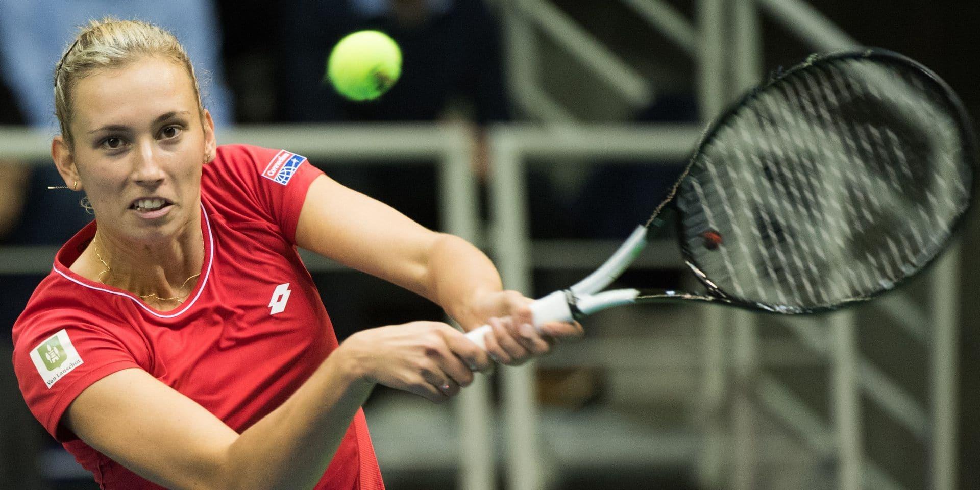 Elise Mertens avance en 8e de finale où elle défiera Simona Halep