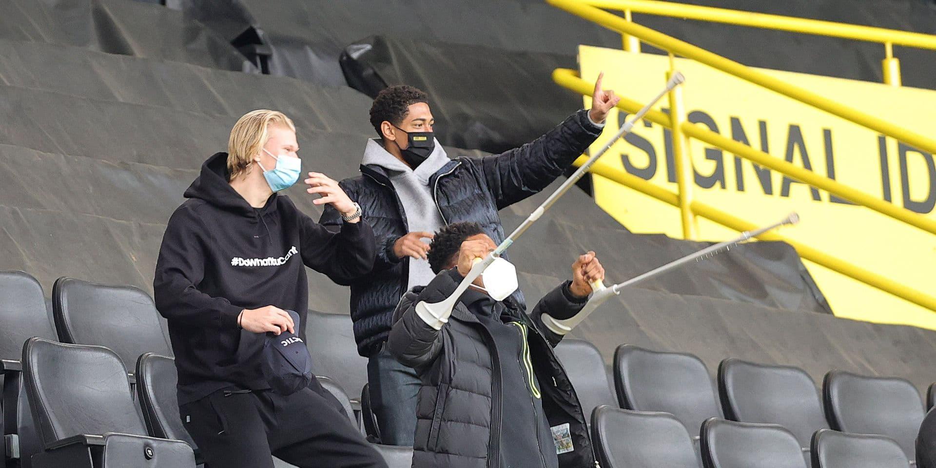 Erling Haaland repris dans le groupe de Dortmund pour la finale contre Leipzig