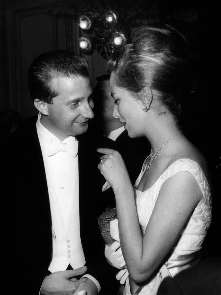 1961. La beauté blonde et élégante qui a fait fondre le prince Albert !