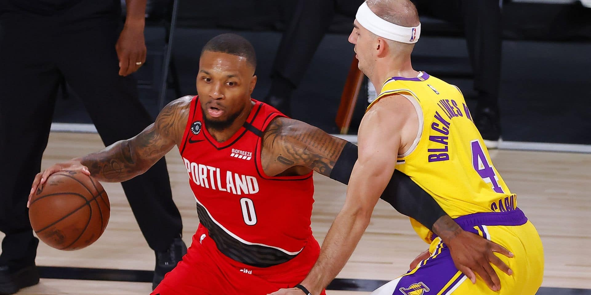NBA: Damian Lillard (Blazers), se blesse à l'index face aux Lakers