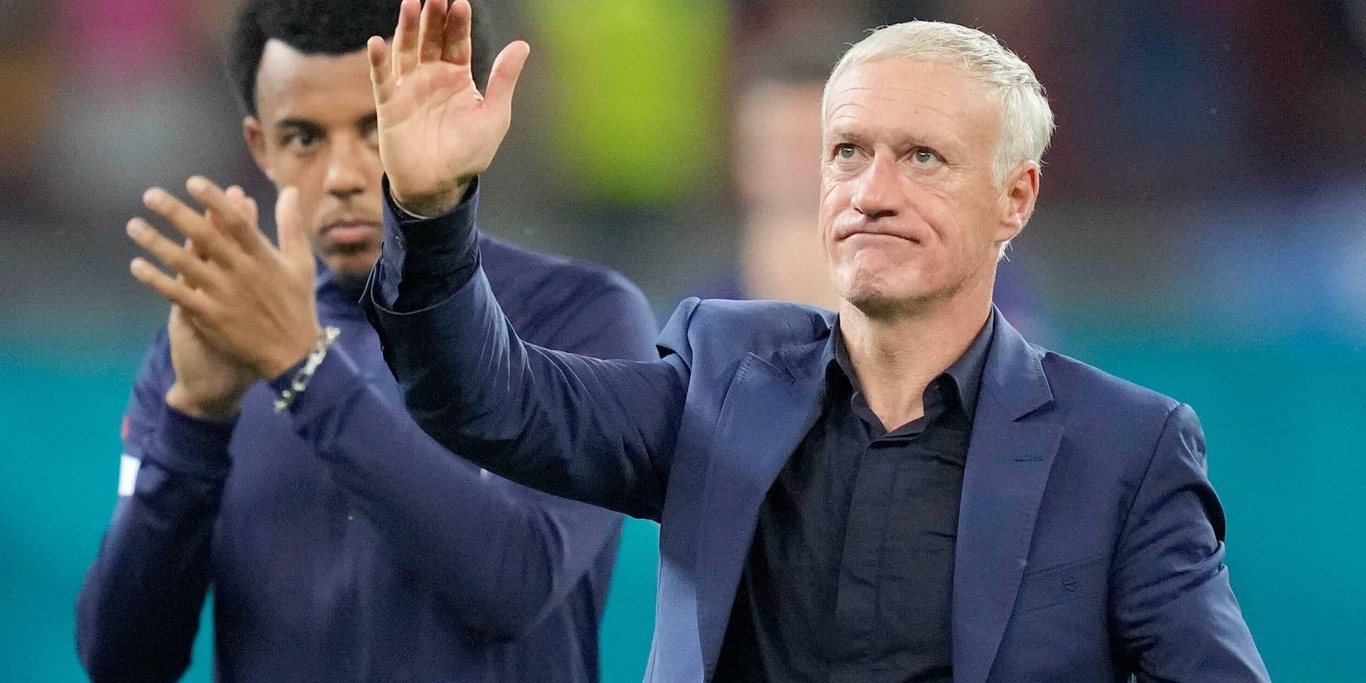 """Didier Deschamps maintenu à la tête de l'équipe de France: """"La question a été réglée en trois minutes"""""""