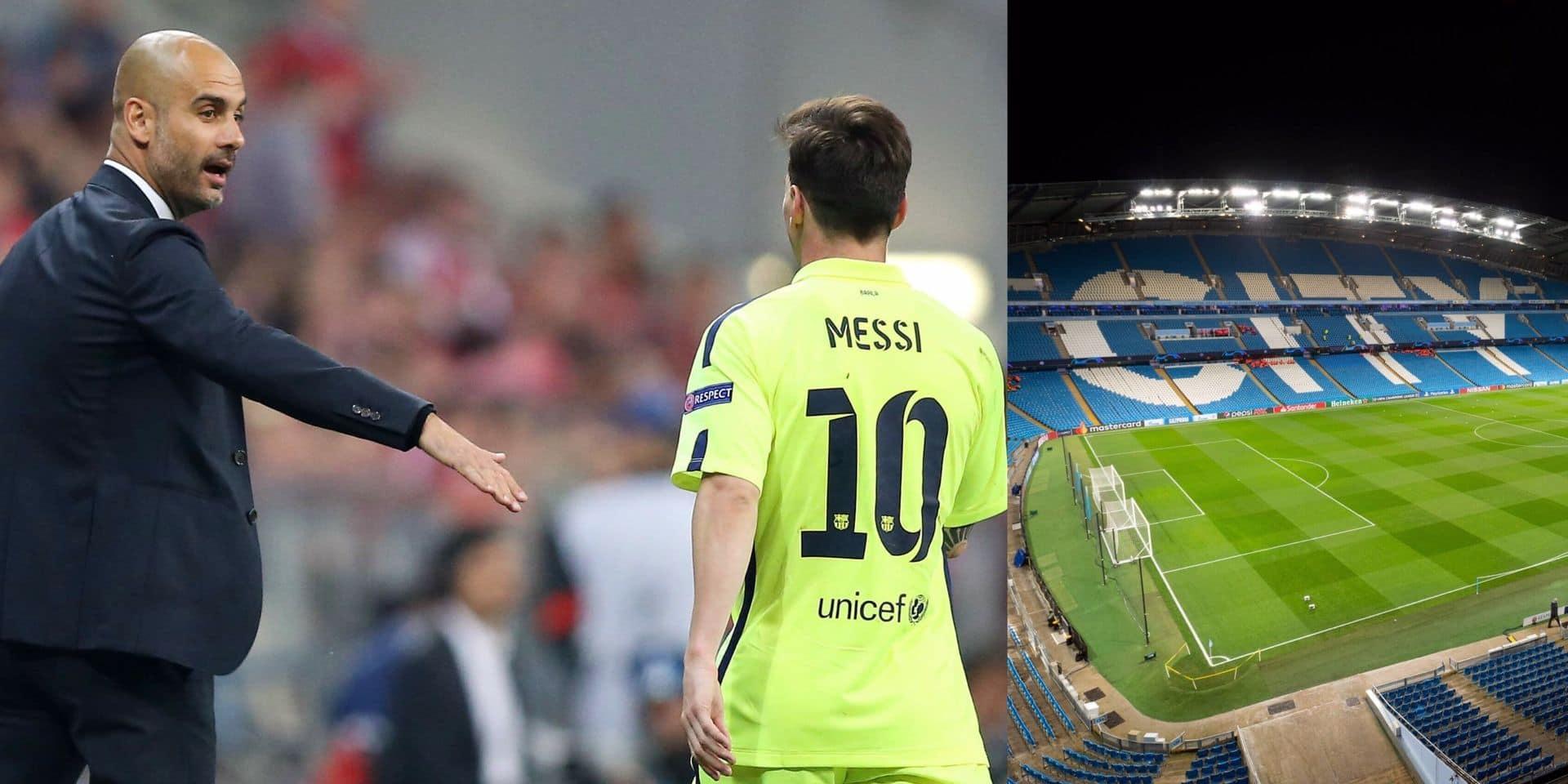 Le plan à 500 millions de Manchester City pour attirer Lionel Messi