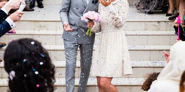 Avis aux fiancés : les mariages chers ne dureraient pas - La DH
