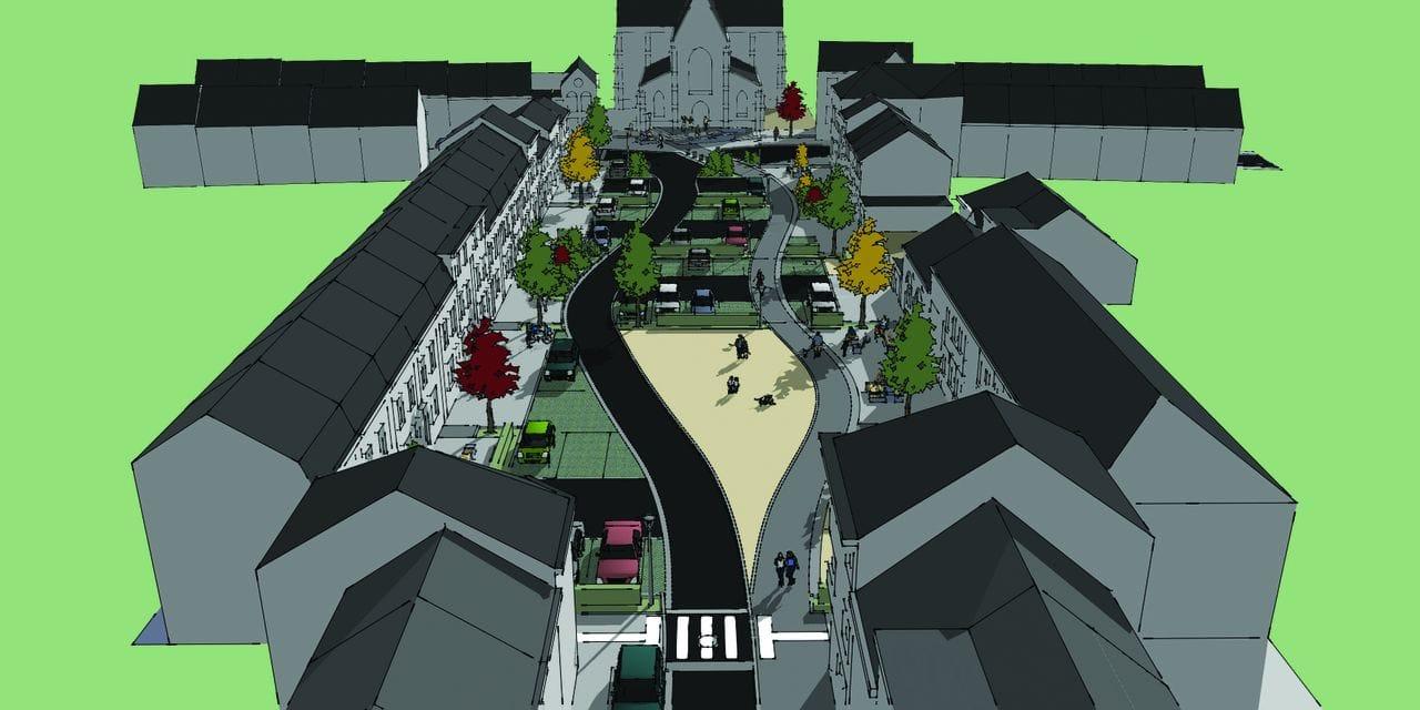 Quartier des carrières à Soignies: la rénovation a commencé