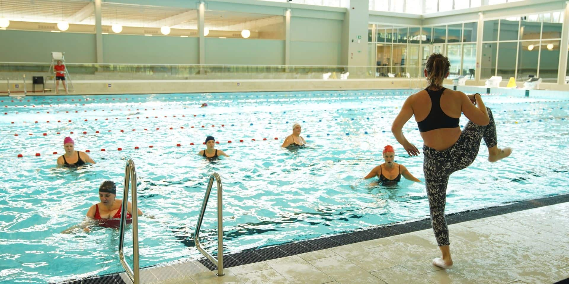 La piscine de Braine-l'Alleud rouvrira finalement le 14 décembre