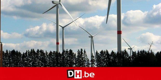 (Photo Nadia Lallemant) La commune de Gouvy a investi 220.000 € dans le parc éolien de Halconreux